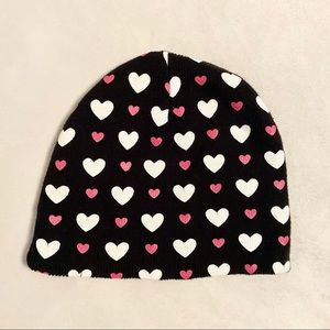 Hot Topic Hearts Hat